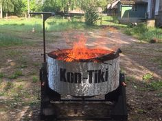 Kon-Tiki kiln in Germany