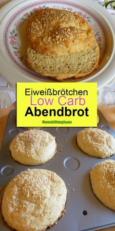 Eiweißbrötchen low carb Abendbrot Ingredients: For the dough: 3 m.-large egg (s) 250 g low-fat quark Egg Roll Recipes, Low Carb Recipes, Law Carb, Homemade Egg Rolls, Dessert Oreo, New Recipes For Dinner, Cheap Meals, Keto Dinner, Low Carb Keto