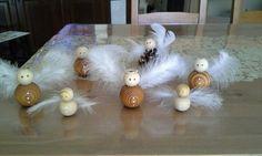Handmade wood angel Wood Angel, Children, Handmade, Young Children, Boys, Hand Made, Kids, Child, Kids Part