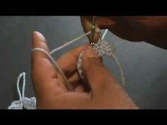 ▶ Crochet baby shower bib's - YouTube