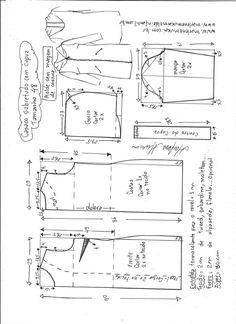 Sobretudo com capuz simples | DIY - molde, corte e costura - Marlene Mukai