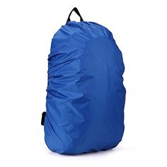 Trustworthy Buy 45L Nylon Waterproof Backpack Rain Cover Rucksack Water Resist Cover for Hiking Camping Traveling Outdoor Activities Blue * For more information, visit image link. (This is an affiliate link) #PackCovers