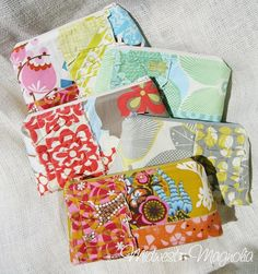 """Perfect gifts for Christmas:  Eclectic & Funky Makeup Bags for the """"one of a kind"""" girl, from @Melissa Lewis - Midwest Magnolia  #gifts, #christmas, #bags, $29.50"""
