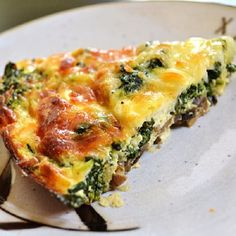 Oven Baked Spinach and Mushroom Tart | Magic Skillet