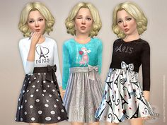 The Sims 4 Designer Dresses Collection Sims Baby, Sims 4 Teen, Sims Cc, Sims 4 Toddler Clothes, Sims 4 Cc Kids Clothing, Cc Shopping Sims 4, Sims Packs, Sims 4 Children, Sims 4 Collections