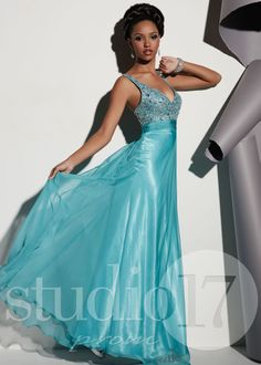 Studio 17 12449 Mermaid Sweetheart Chiffon Prom Dresses Online