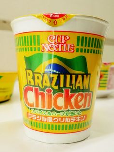 Special edition World Cup Noodles add Brazilian flavor to old favorite
