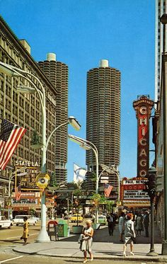 State Street at Randolph, Chicago,1962
