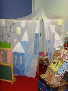 My fairy tales role play area