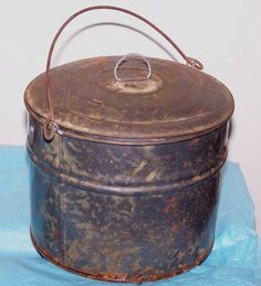Kau Kau Tin lunch box used by sugar plantation workers