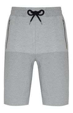 Gray Mesh Shorts