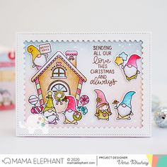 mama elephant | design blog: STAMP HIGHLIGHT: Little Gnome Agenda