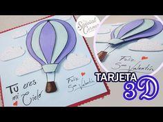 【❖ TARJETA GLOBO 3D - SAN VALENTÍN || The Special Corner ❖】 - YouTube