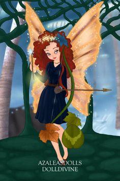 Disney Fairy Princesses- Merida by ~yasmin8632 on deviantART