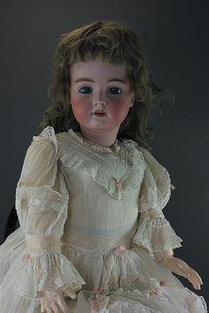 "37"" HEINRICH HANDWERCK SIMON & HALBIG CHILD. BISQUE SOCKET HEAD MARK... Lot 1105"