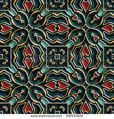 460 Vitreous enamel pattern. Abstract vector texture for corporate style, interior design, textile, print or web design.