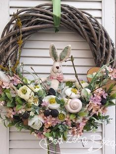 1 million+ Stunning Free Images to Use Anywhere Wreath Crafts, Diy Wreath, Door Wreaths, Grapevine Wreath, Easter Flower Arrangements, Easter Flowers, Free To Use Images, Easter Holidays, Easter Party