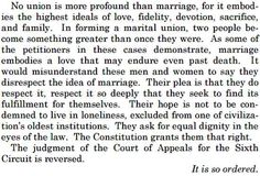 The Stunning Closing Paragraph Of Justice Kennedy's Marriage Ruling - BuzzFeed News