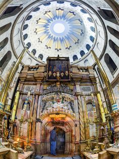 Jerusalem, Old City, Christian Quarter, Church of the Holy Sepulchre (By: Gavin Hellier) | Posters  Prints of the holy land