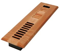 Decor Grates 2x14 Louvered Solid Maple Natural. Model: WML214-N (Ventilation Grilles) photo