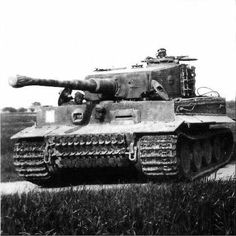 Tiger I in the field