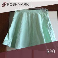 American apparel jeans mint circle skirt Denim circle skirt, worn twice American Apparel Skirts Circle & Skater