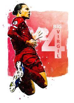 Liverpool Wallpapers, Virgil Van Dijk, Liverpool Players, Poster Prints, Art Prints, My Memory, Soccer, Football, Memories