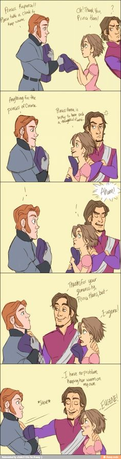He knew from the beginning that Hans was a bad guy.