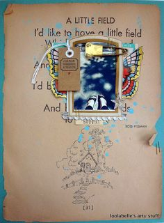 by Louise - great use of vintage page to add meaning