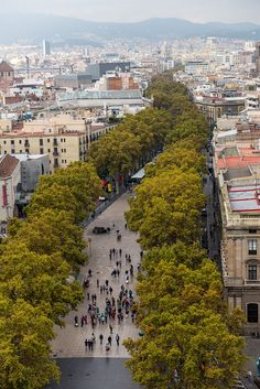 La Rambla, Barcelona, Spain I miss this place Gaudi, Places Around The World, Around The Worlds, Places To See, Places Ive Been, Travel 2017, Outdoor Pictures, Spain And Portugal, Most Beautiful Cities