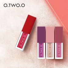 O.TWO.O 4Colors/Kit Winter Hot Make Up Lip gross Different Effect Matte Liquid Lip gross Waterproof Soft Glossy Shimmering (China)