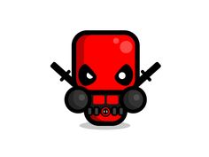 Simple deadpool by Konrad Kirpluk