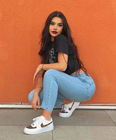 i literally have a picture like this at the same spot with the same pose smh Best Photo Poses, Picture Poses, Cute Poses For Pictures, Cute Girl Poses, Funny Pictures, Urban Style Outfits, Fashion Outfits, Fashion Photography Poses, Teenage Girl Photography