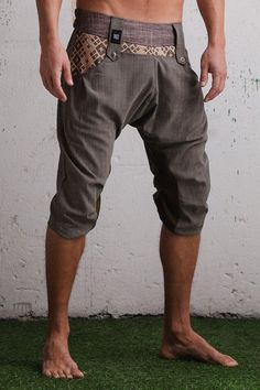 VALO CAPRI  A beautiful unisex capri drop crotch by VALOdesigns