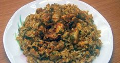 Pastry Cake, Fish Dishes, Mediterranean Recipes, Greek Recipes, Fish And Seafood, Fried Rice, Cooking Recipes, Health, Ethnic Recipes