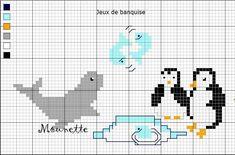 Diagramme inspiré par notre temps froid actuel   *  Diagramme de 66 points x 36 points   4 couleurs + le blanc et le noir  Utilisez vos r...