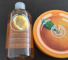 The Body Shop Satsuma Body Butter & Body Wash #TheBodyShop #Satsuma #ShowerGel #BodyButter #Bath #Spa #Skincare