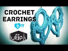 DIY Tutorial | Summer Crochet Earrings