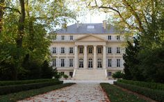 Chateau Margaux- France: One of the most famous wineries in the world. Caves, Famous Wines, Wine News, Bordeaux Wine, Wine Sale, Grand Cru, Vitis Vinifera, In Vino Veritas, French Chateau