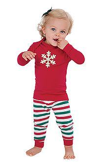 0076aa8401 Holiday Stripe Matching Family Pajamas. Baby Girl ...