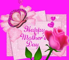 Pink Mother's Day Roses And Butterflies mothers day happy mothers day happy mothers day pictures mothers day quotes happy mothers day quotes mothers day quote mother's day happy mother's day quotes mothers day gifs Mothers Day Roses, Mothers Day Gif, Mothers Day 2018, Mothers Day Cards, Mothers Love, Mother Gif, Mother Mother, Happy Mothers Day Pictures, Happy Mother Day Quotes