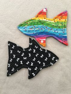 2 pack Cloth panty liner daily wear 8 inch fish shaped reusable washable sanitary cloth menstrual pad by ScarletCloth on Etsy