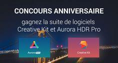 Concours anniversaire Phototrend – gagnez la suite de logiciels Creative Kit et Aurora HDR Pro