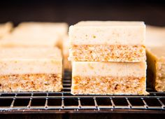My Favourite Lemon Slice. My Favourite Lemon Slice. Simple delicious and free from gluten grains dairy egg and refined sugar. Sugar Free Recipes, Lemon Recipes, Sweets Recipes, Raw Food Recipes, Delicious Recipes, Healthy Sweets, Healthy Baking, Healthy Bars, Healthy Sugar