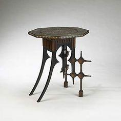 Carlo Bugatti (1856-1940) - Occasional Table. Circa 1896.