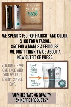 Take care of your skin! It's the only one you have   Www.prmeismer.nerium.com