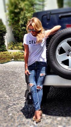 Celine T-shirt / outfit