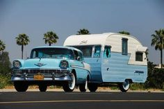Chevy Nomad and Shasta