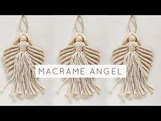 Macrame Wall Hanging Diy, Macrame Art, Macrame Design, Macrame Plant Hangers, Macrame Plant Hanger Patterns, Macrame Mirror, Macrame Supplies, Macrame Projects, Christmas Angels