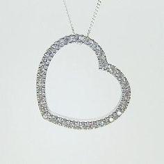 Heart Diamond Pendant £51